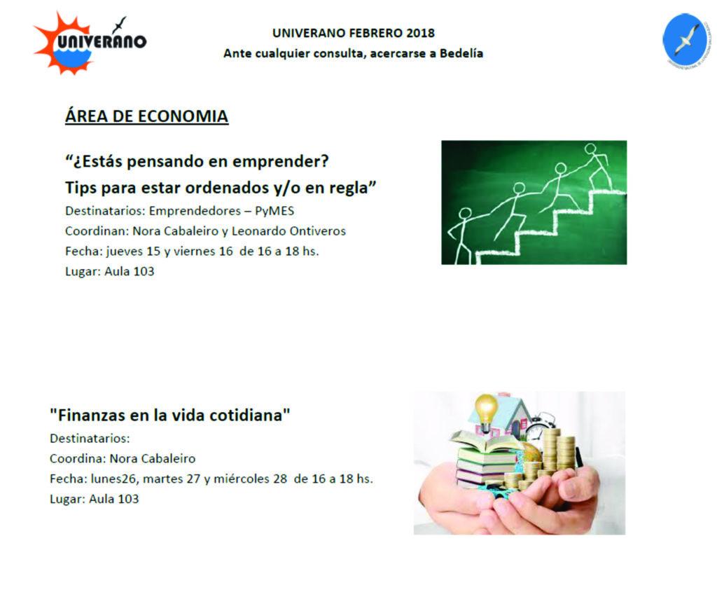 Area Economía